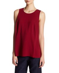BCBGMAXAZRIA | Red Ellin Tank | Lyst