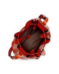 Luana Italy - Multicolor Nico Leather Bucket Bag - Lyst