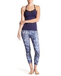 Beyond Yoga - Blue Capri Legging - Lyst