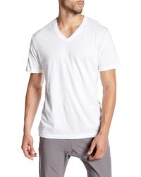 Lucky Brand | White V-neck Tee - Pack Of 3 for Men | Lyst