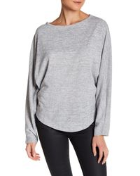 Olive & Oak | Gray Dolman Pullover Sweater | Lyst