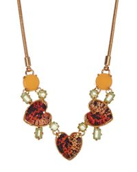 Marc By Marc Jacobs - Multicolor Desert Beetle Necklace - Lyst
