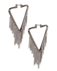 Marc By Marc Jacobs - Multicolor Pointer Hinge Earrings - Lyst