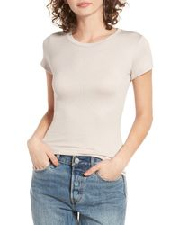 Michelle By Comune Multicolor Moody Ribbed Tee
