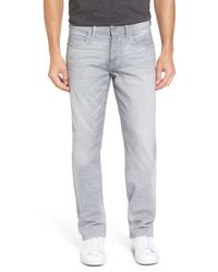 Hudson Jeans | Gray Byron Straight Leg Jean for Men | Lyst