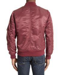 Rag & Bone | Red Manston Bomber Jacket for Men | Lyst