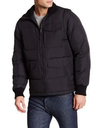 Victorinox | Black Reinbach Dual Function Quilted Vest Jacket for Men | Lyst