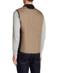 Victorinox - Brown Grafton Quilted Vest for Men - Lyst