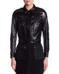 Marc By Marc Jacobs - Black Mini Military Jacket - Lyst