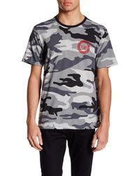 True Religion | Gray Short Sleeve Graphic Print Tee for Men | Lyst