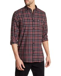 Victorinox   Long Sleeve Plaid Tailored Fit Shirt for Men   Lyst