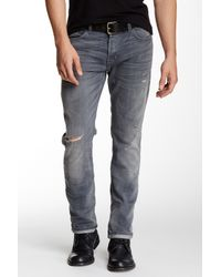 Hudson Jeans | Blue Sartor Slouchy Skinny Fit Jean for Men | Lyst