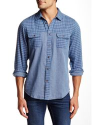 Ben Sherman | Blue Micro Gingham Regular Fit Shirt for Men | Lyst