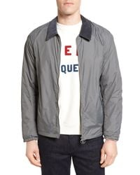 Barbour | Gray Lundy Tailored Fit Jacket for Men | Lyst