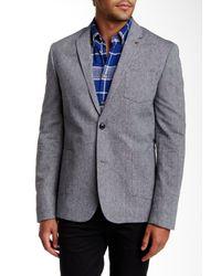 Ben Sherman - Blue Chambray Sport Coat for Men - Lyst