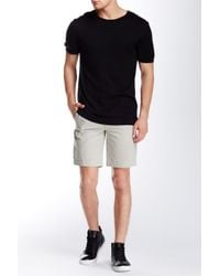 Kenneth Cole | Gray Thin Stripe Short for Men | Lyst