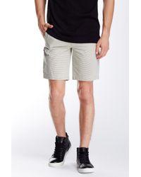 Kenneth Cole - Gray Thin Stripe Short for Men - Lyst