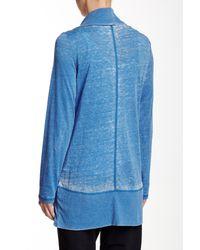Marc New York - Blue Super Wash Cardigan Wrap - Lyst