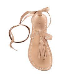 Bernardo | Multicolor Footwear Mosie Tassel Sandal | Lyst