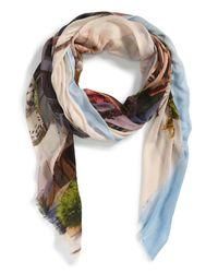 Michael Stars   Multicolor 'pacific Coast' Print Wrap   Lyst