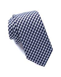 Joe Fresh - Blue Gingham Tie for Men - Lyst
