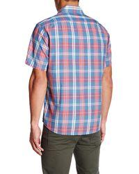 Faherty Brand - Blue Seaview Short Sleeve Shirt for Men - Lyst