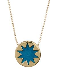 House of Harlow 1960 | Multicolor Mini Sunburst Pendant Necklace | Lyst