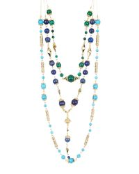 House of Harlow 1960 - Blue Cairo Layered Statement Necklace - Lyst