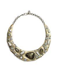 Kendra Scott | Metallic 'mira' Jewel Collar Necklace | Lyst