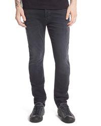 Hudson Jeans | Sartor Slouchy Skinny Fit Jeans (sulphite Black) for Men | Lyst