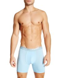 Calvin Klein | Blue Magnetic Force Microfiber Boxer Brief for Men | Lyst