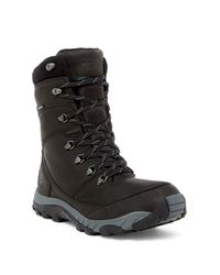 The North Face | Black Chilkat Leather Insulated Tall Boot for Men | Lyst