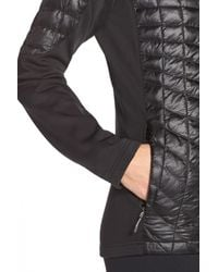 The North Face - Black 'momentum Thermoball' Hybrid Jacket - Lyst