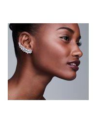 Nadri - Metallic Cubic Zirconia Stud Ear Crawlers - Lyst