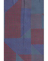 Halogen - Multicolor Medallion Print Scarf - Lyst