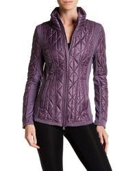 Zella | Purple Brooklyn Quilted Jacket | Lyst