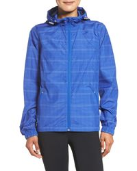 Zella | Blue Cloud Nine 2 Reflective Jacket | Lyst