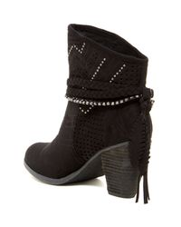 Not Rated - Black Adylene Bootie - Lyst
