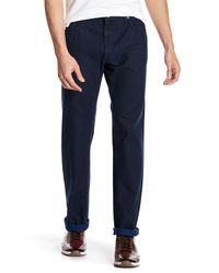Giorgio Armani - Blue Topstitch Denim Trouser for Men - Lyst