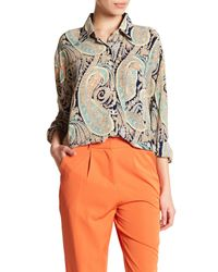 Glamorous - Multicolor Paisley Tunic Blouse - Lyst