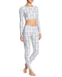 Volcom - White Printed Surf Legging - Lyst