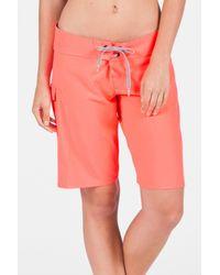 Volcom - Pink Simply Solid Swim Short - Lyst