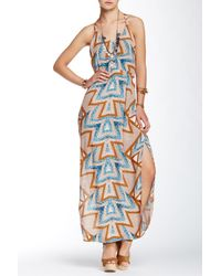 Free People | Multicolor Serves You Right Print Maxi Dress | Lyst