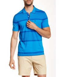 Original Penguin | Blue Exploded Stripe Fashion Mearl Slim Fit Polo for Men | Lyst