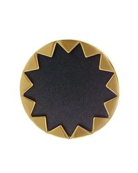 House of Harlow 1960   Metallic Starburst Genuine Leather Cocktail Ring - Size 7   Lyst