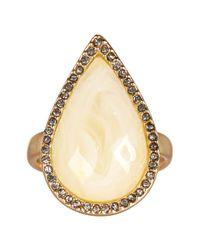 Karen Kane - Metallic Crystal Coronado Ring - Size 7 - Lyst