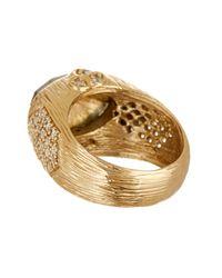 Melinda Maria - Metallic Larissa Labradorite Ring - Lyst
