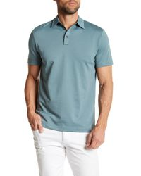 Robert Barakett | Blue Braden Short Sleeve Polo for Men | Lyst