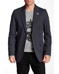 Robert Graham | Blue Gasper Two Button Notch Lapel Sportcoat for Men | Lyst