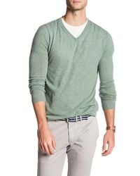 Autumn Cashmere - Green Cable Knit Cashmere Sweater for Men - Lyst